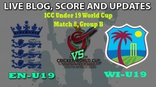 EN-U19 vs WI-U19 Dream11 Team Prediction Under 19 World Cup 2020: Captain And Vice-Captain, Fantasy Cricket Tips England U19 vs West Indies U19 Match 8, Group B at Diamond Oval, Kimberley 1:30 PM IST